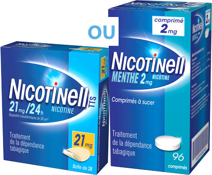 Patch Nicotinell® 7mg/24h, Comprimés Nicotinell® 2mg Menthe