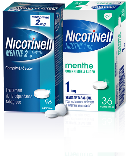 Comprimés  Nicotinell 1mg